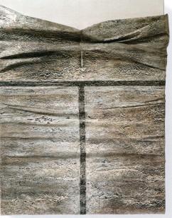 BUSCARINO CANOSBURI - Toconoma, 1998, olio e pigmenti su carta intelata su tela, 60x48cm
