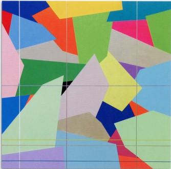MARCO CASENTINI - One more time please, 2008, acrilico su tela, 96x96cm