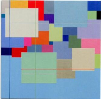 MARCO CASENTINI - When the sun falls, 2008, acrilico su tela, 96x96cm