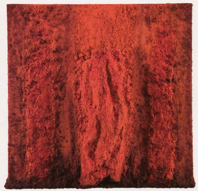 BOSCO SODI - Organic work, 2008, tecnica mista su tela, 100x100cm