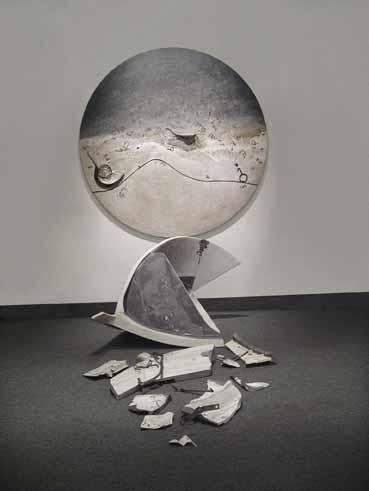 GABRIELLA BENEDINI - I relitti o la memoria dell'essere (particolare), 2008