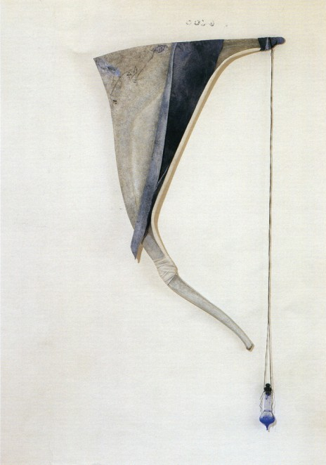 GABRIELLA BENEDINI - Arpa marina, polimaterico, 190x90cm