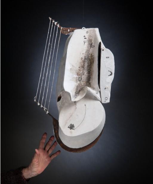 GABRIELLA BENEDINI - Mousiké, 2015, polimaterico, 58x35x10cm
