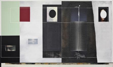 Angelo Cagnone, La mano sinistra, 2016, t.m. su tela, cm 72x120